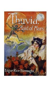 Thuvia Maid of Mars audiobook poster
