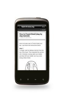 How To Braid Hair - Hairstyles apk screenshot