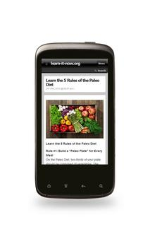The Paleo Diet App & Recipes apk screenshot