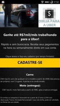 Dirija Uber (alto salário) poster