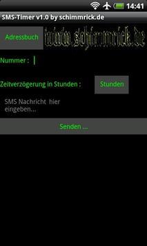 SMS Timer poster