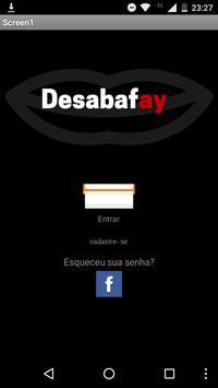 Desabafay poster