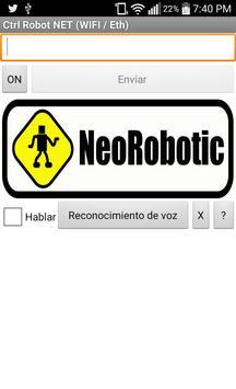 Control Robot NET poster