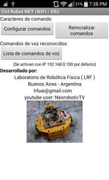 Control Robot NET apk screenshot