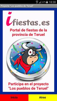 Fiestas provincia Teruel 2016 poster