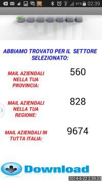 DOWNLOAD EMAIL AZIENDE ITALIA apk screenshot