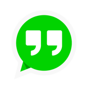 Status and quotes to WhatsApp icon
