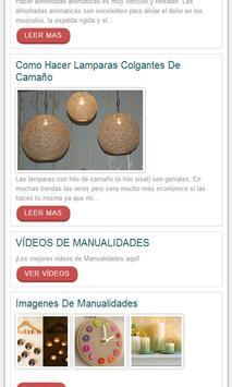 Manualidades,Interiores apk screenshot
