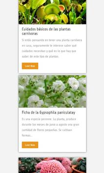 Plantas apk screenshot