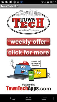 Town Tech poster