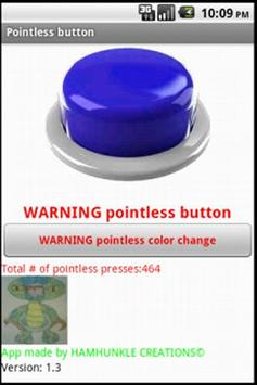 Pointless Button apk screenshot