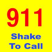 Shake to Call 911 icon