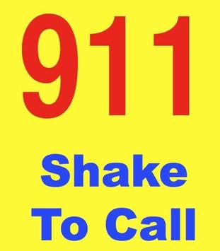 Shake to Call 911 poster