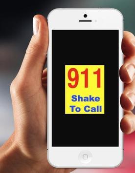 Shake to Call 911 apk screenshot