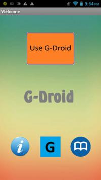 G-Droid poster