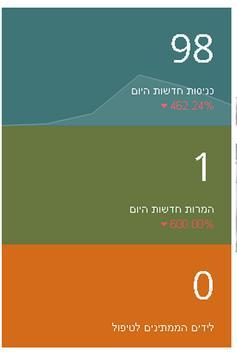 מערכת ניהול לידים apk screenshot