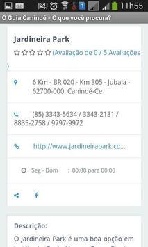 O Guia Canindé apk screenshot