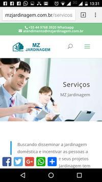 MZ Jardinagem apk screenshot
