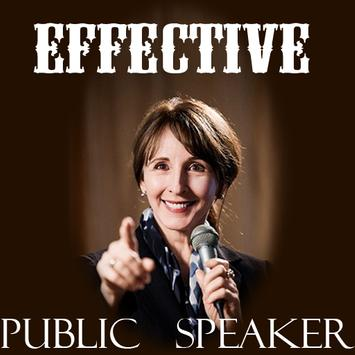Be an Effective Public Speaker poster