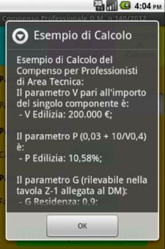Compenso Professionale apk screenshot