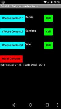 FastCall apk screenshot