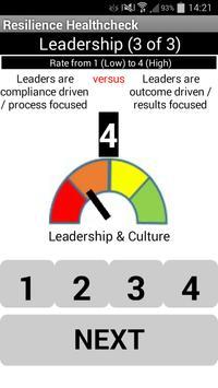 Resilience HealthCheck apk screenshot