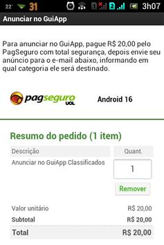 GuiApp Classificados apk screenshot