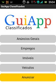 GuiApp Classificados poster