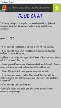 Blue Chat apk screenshot