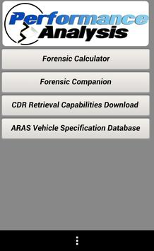 PA Forensic Assistant apk screenshot