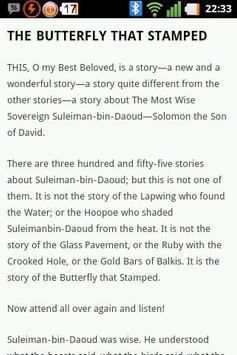 Just So Stories apk screenshot