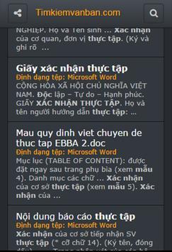 Tìm Kiếm Văn Bản & Tài Liệu apk screenshot
