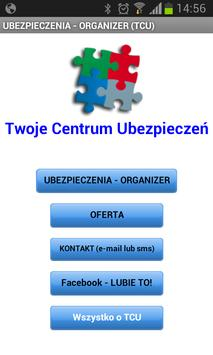 Ubezpieczenia - ORGANIZER poster