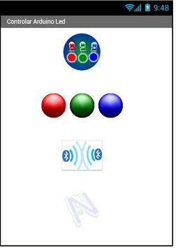 Bluetooth Arduino LEDs poster