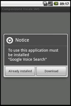 Write SMS and e-mail by voice apk screenshot