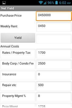 My Yield apk screenshot