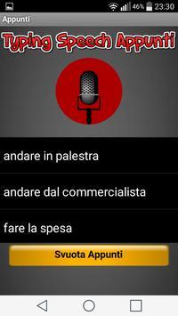 Typing Speech apk screenshot