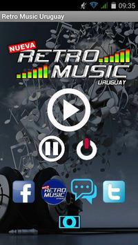 Retro Music Uruguay poster