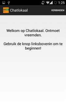 Chatlokaal poster