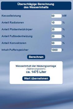 AGUASAVE Betriebsmittelrechner apk screenshot