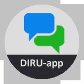 DIRU-app icon