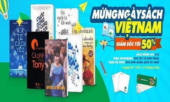 VINABOOK–Nhà sách trên mạng poster