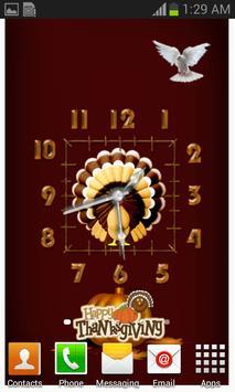 Thanks Giving Clocks poster