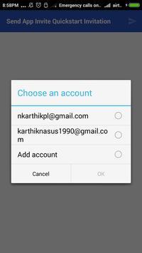 Appinvite apk screenshot