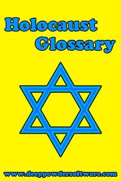 Holocaust Glossary poster