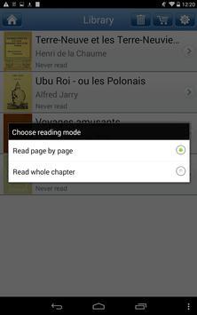 Popular French Books apk screenshot