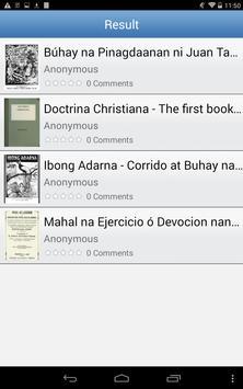 Popular Tagalog Books apk screenshot