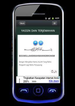 Yasin Dan Tahlil poster
