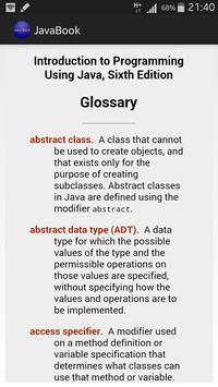 Java Programming Introduction apk screenshot