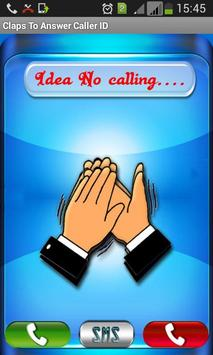 Claps to Answer Caller ID poster